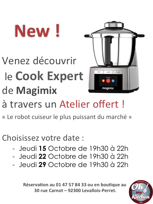Le Cook Expert de Magimix by Oh my Kitchen